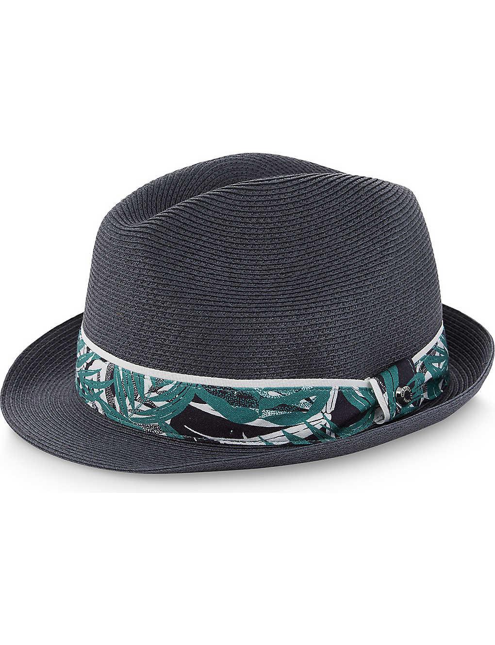 927ba3832 TED BAKER - Printed trilby hat | Selfridges.com