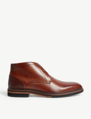 TED BAKER Leather Derby boots