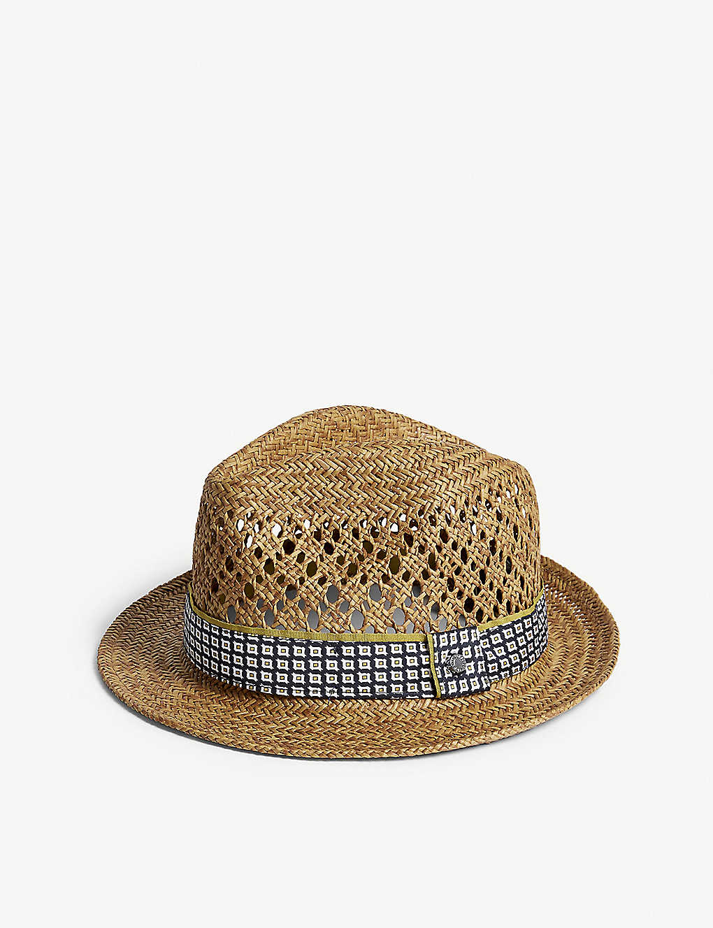 e0b66f4f224a6 TED BAKER - Harlow straw trilby hat
