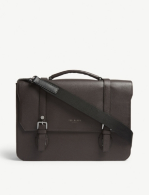 Ted Baker Nevadaa grained leather satchel