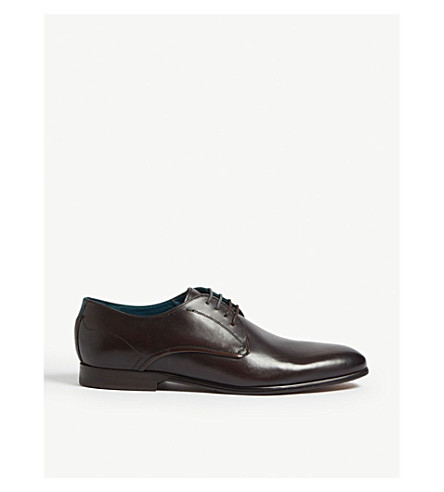 b25bf9baa3c TED BAKER - Fonntan leather Derby shoes