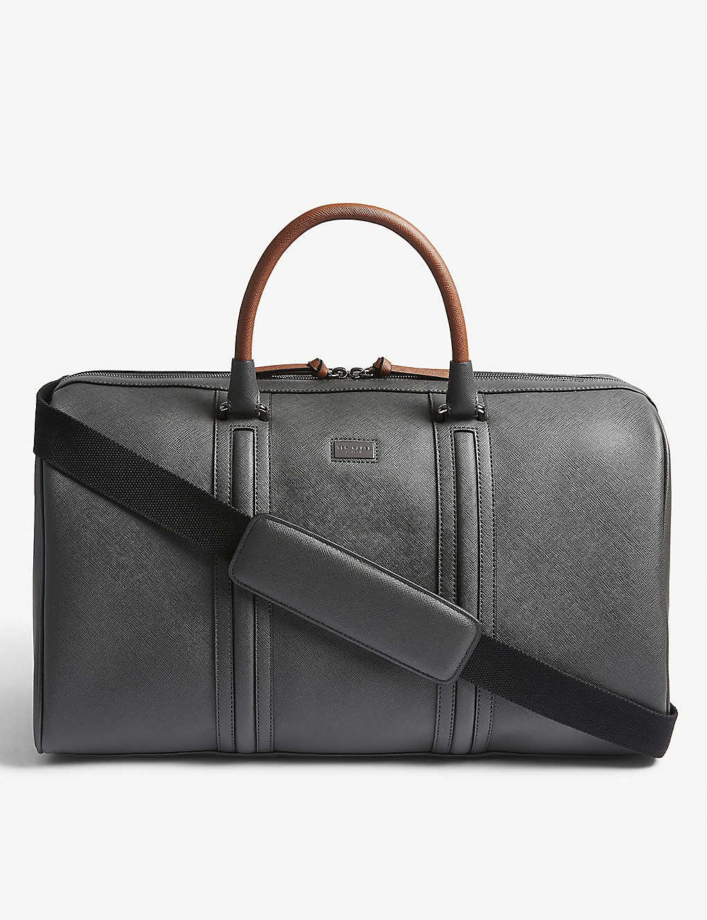 c271ae13d TED BAKER - Grankan cross-grain leather holdall