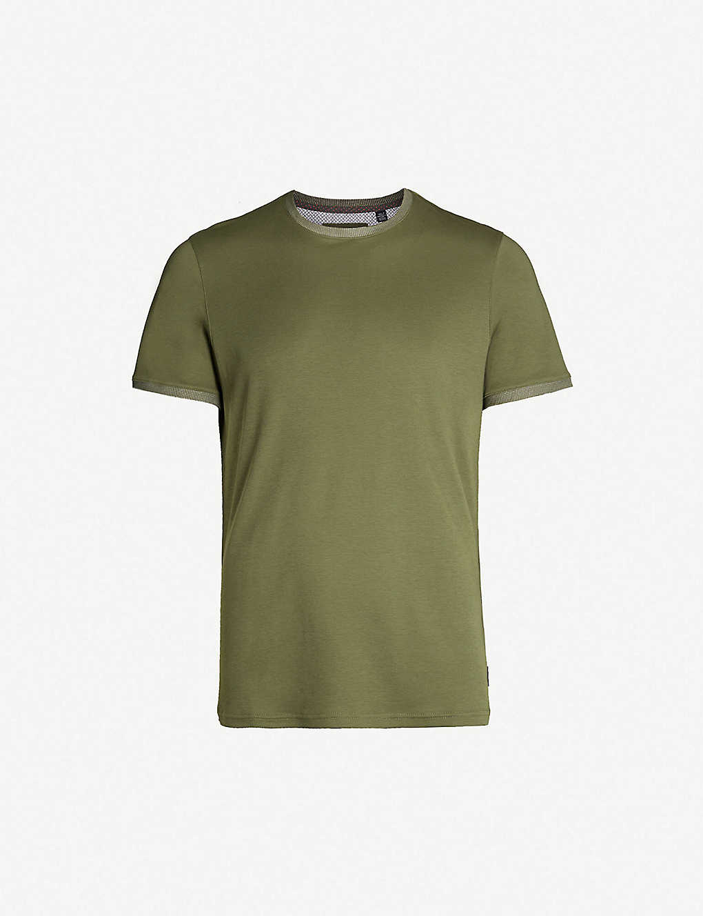 92094c9f0 TED BAKER - Polka-dot embellished cotton T-shirt