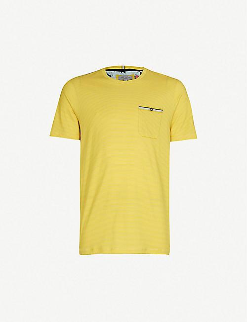 bef288ebe TED BAKER - Plain T-Shirts - T-Shirts - Tops   t-shirts - Clothing ...