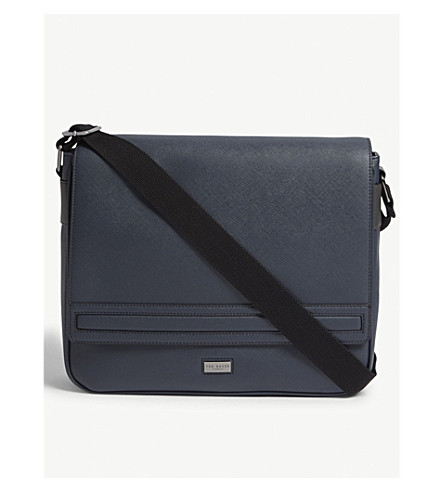 df3b06b891c8b ... Ted Baker Tokey crossgrain despatch bag (Navy. PreviousNext