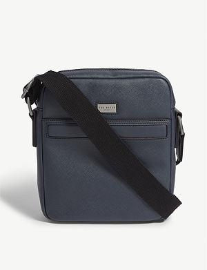 8e0fc54aca128b TED BAKER Gomera crossgrain mini flight bag