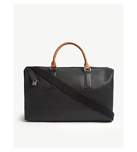 ... perforated leather holdall (Black. PreviousNext 02e143467f75c