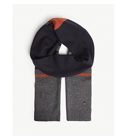 6aae7802aa9 TED BAKER - Striped scarf
