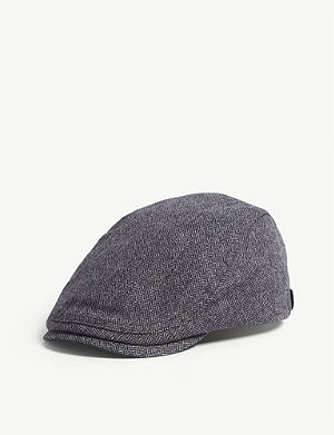 d9c014be123 TED BAKER - Baker boy wool-blend cap