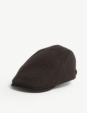 6dafe2dfdde TED BAKER - Noir flat cap