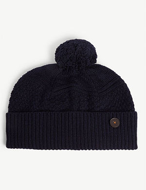 TED BAKER Multhat knitted wool hat 1b9f0f02d9c