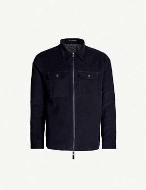 TED BAKER Nomel zipped cotton jacket
