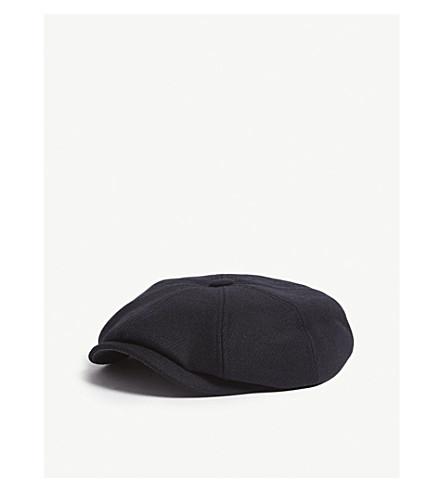 489dac8265feb5 TED BAKER Sugarq structured baker boy cap (Navy