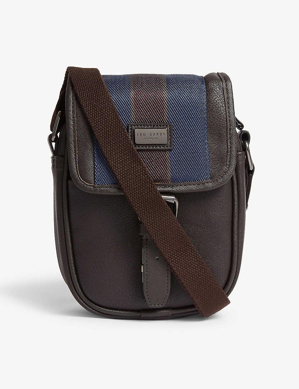 5298240126bd TED BAKER - Blobo webbing flight bag   Selfridges.com