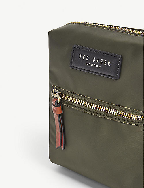 TED BAKER Satday nylon flight bag