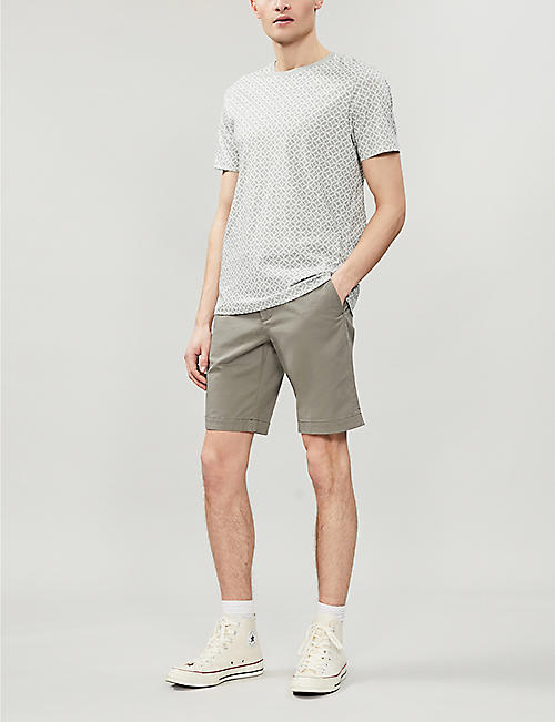 TED BAKER Selshor stretch-cotton chino shorts
