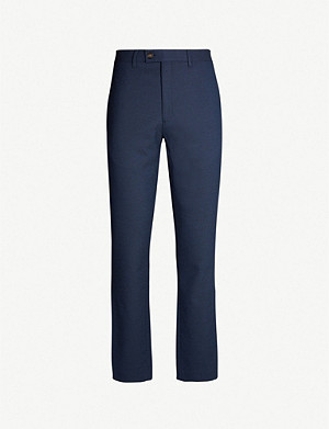 TED BAKER Gorktro regular-fit stretch-twill trousers