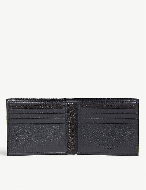 TED BAKER Leather bifold wallet