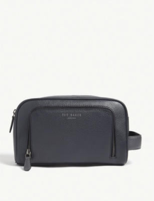 TED BAKER Leather washbag