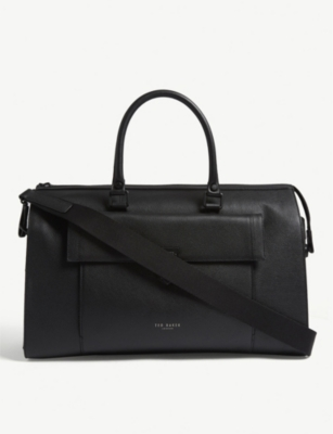 TED BAKER Starmo leather holdall