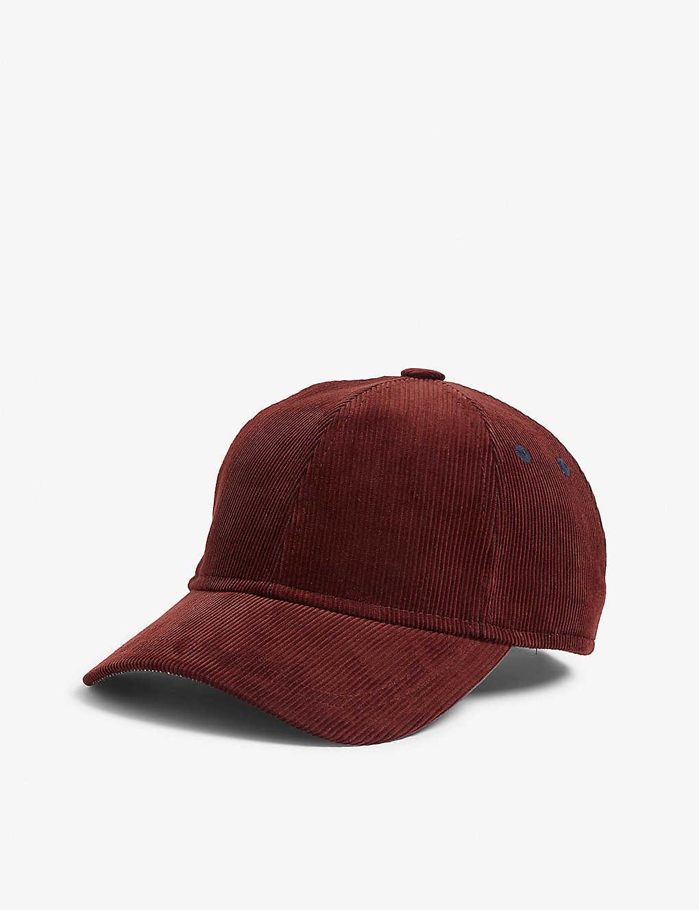 0992fd9b52d39e TED BAKER - Corduroy baseball cap | Selfridges.com