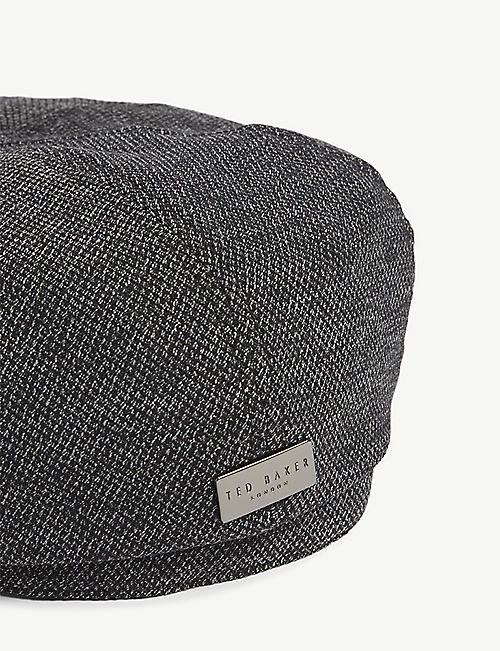 a9286403 TED BAKER Treacle textured Baker boy hat · Quick Shop