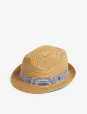 TED BAKER Lemony straw hat