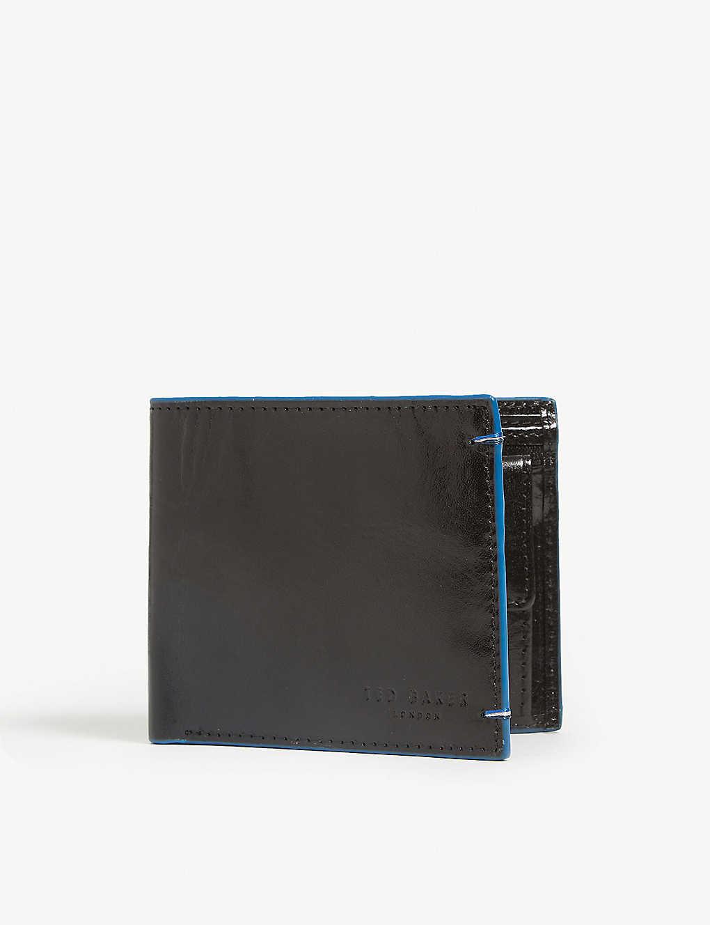 f93b1a2778f TED BAKER - Chicoin leather billfold wallet | Selfridges.com