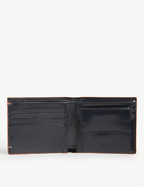 TED BAKER Chicoin leather billfold wallet