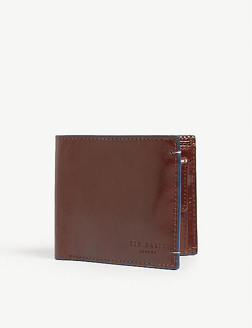 ede77c65e TED BAKER Chicoin leather billfold wallet
