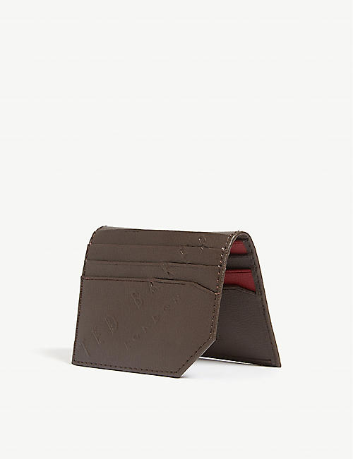 TED BAKER Wuncard leather card holder