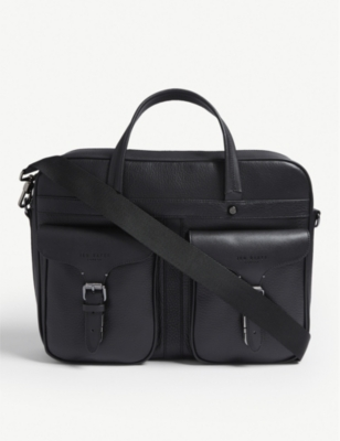 TED BAKER Forsee leather document bag
