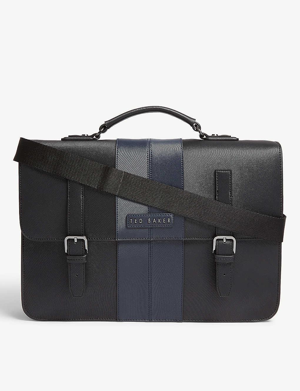 08ba37c282 TED BAKER - Iced twill satchel bag