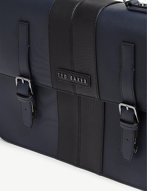 TED BAKER Iced twill satchel bag