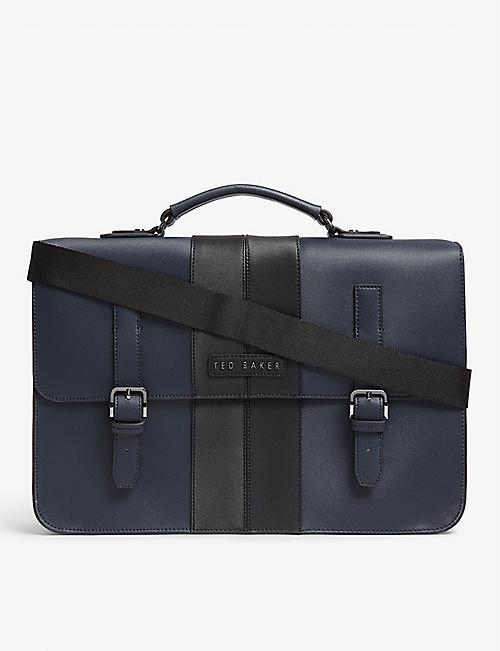 2c434e5f1 TED BAKER Iced twill satchel bag