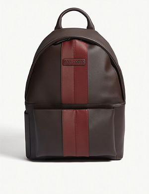 cde641f92 TED BAKER - Rusted leather backpack | Selfridges.com
