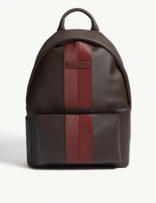TED BAKER Popp twill detail backpack