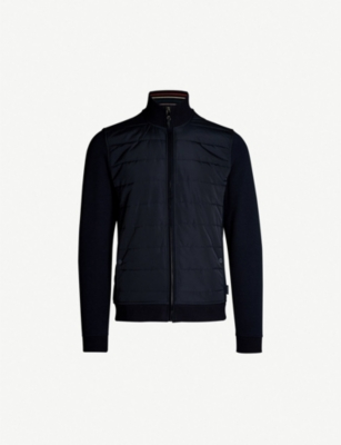 TED BAKER Mowntan quilted woven jacket