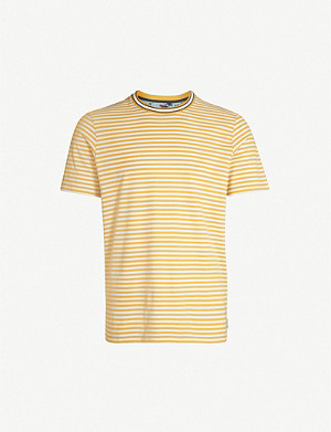 TED BAKER Lemur striped cotton-jersey T-shirt