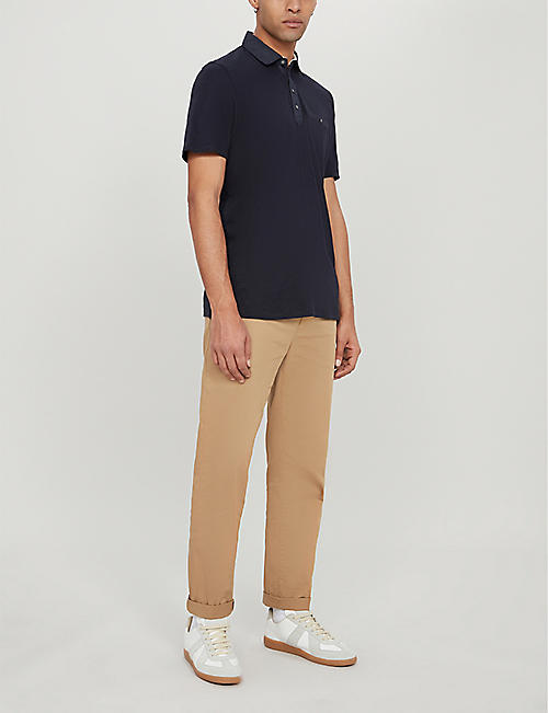 TED BAKER Saharah stretch-jersey polo shirt