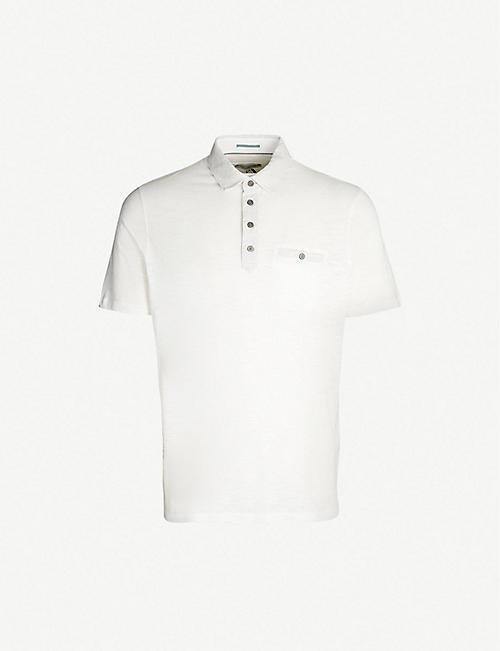 8bffc1f2ac50 TED BAKER Saharah stretch-jersey polo shirt