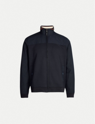 TED BAKER Funnel neck jersey jacket