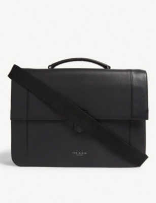 TED BAKER Aggro leather satchel bag