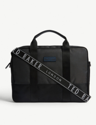 TED BAKER Tryer nylon document bag