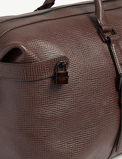 TED BAKER Welsee leather holdall
