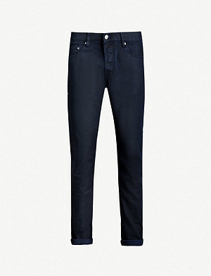 TED BAKER Tarsee turn-up slim-fit straight jeans