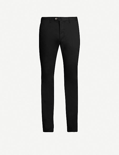 TED BAKER Slim-fit straight stretch-cotton chinos