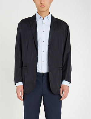 d8d43fdbc8c01 TED BAKER - Paisley-print regular-fit cotton shirt