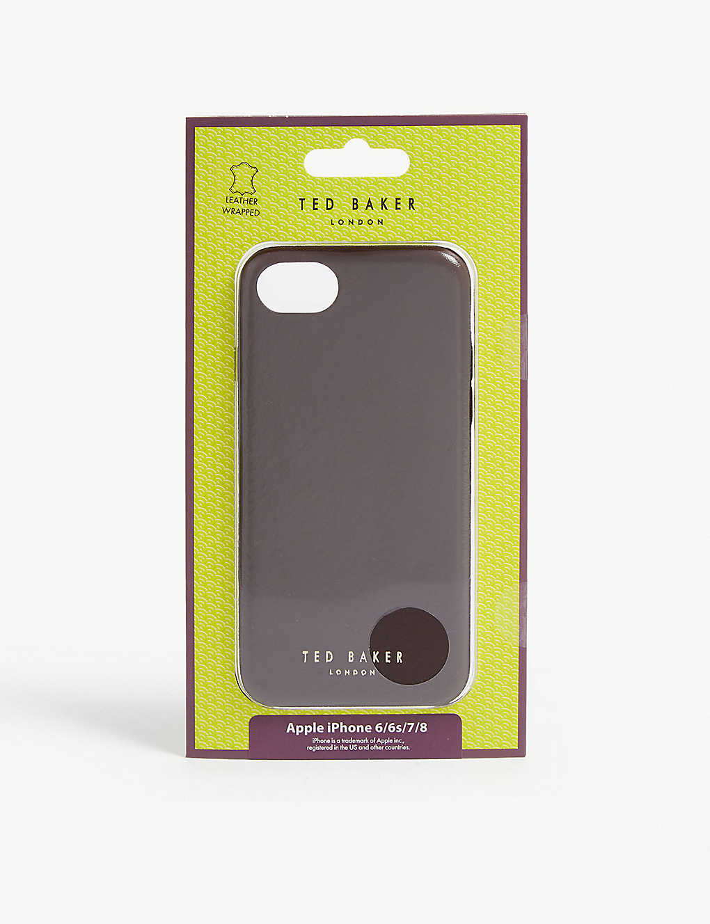 TED BAKER: Midoco iPhone 6/7/8 leather clip case