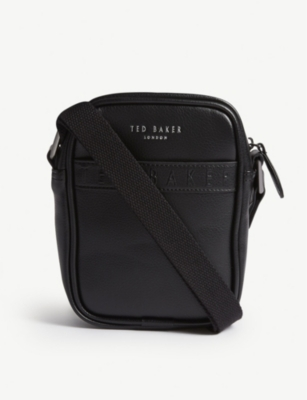 TED BAKER Logo leather bag